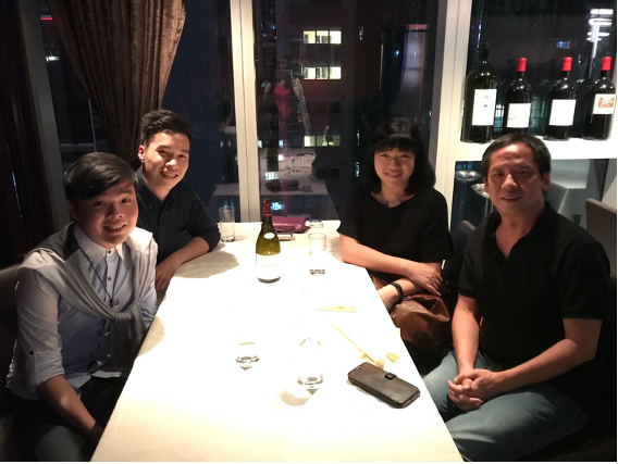 Wine Dinner At The French Table 05/06/2017
